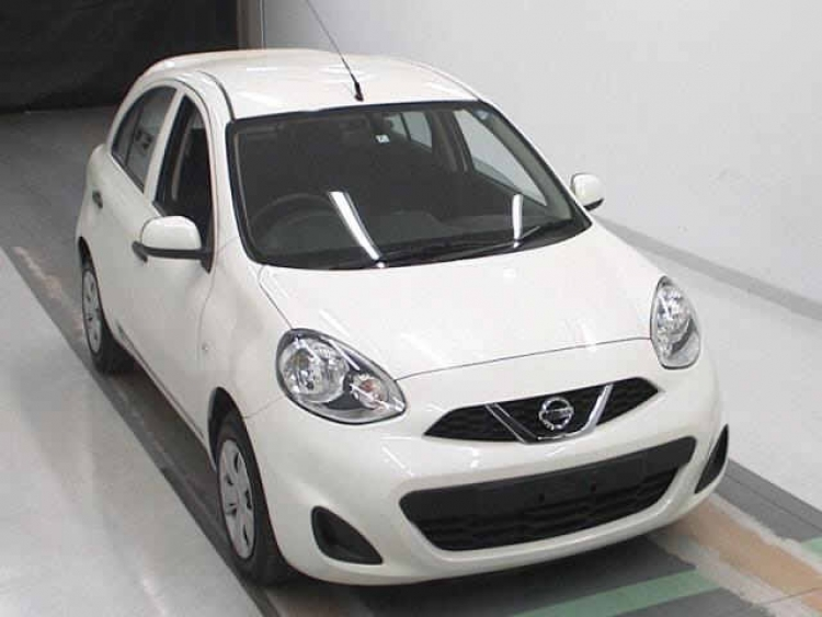NISSAN MARCH  WHITE 2016