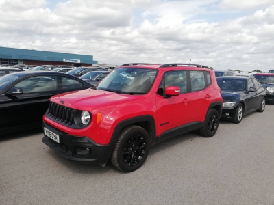 JEEP RENEGATE  RED