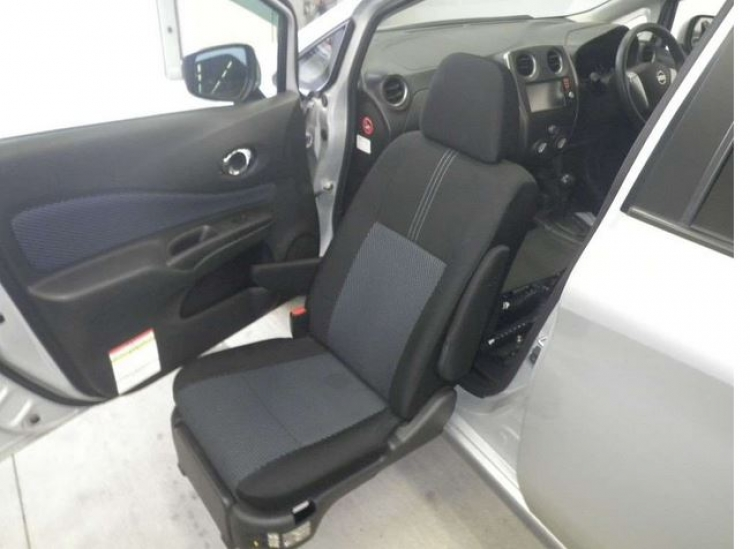 NISSAN NOTE  LIFT 2014 SILVER