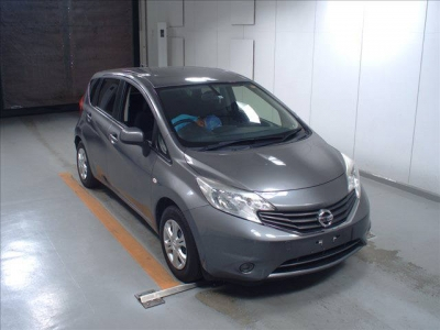 NISSAN NOTE 2014  GRAY
