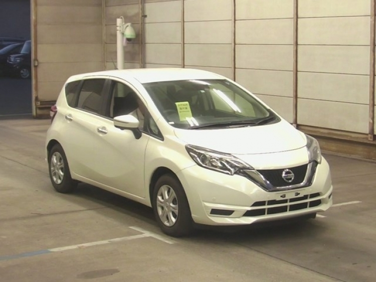 NISSAN NOTE 2017 WHITE