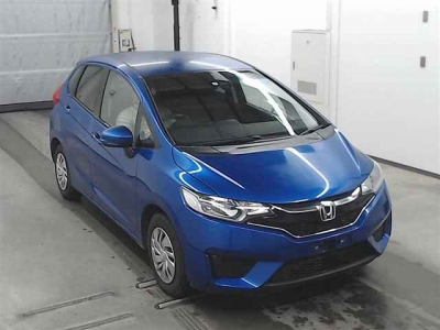 HONDA FIT  2017  BLEU